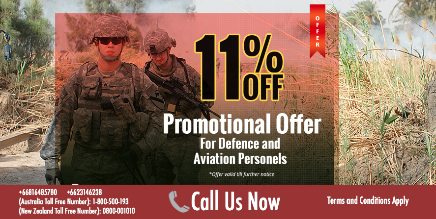 Flight Crew and Defense Service Professional Offer
